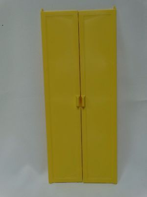 1978-79 Barbie Dream House A-Frame Replacement Set Yellow Doors 2588-2243-2 D