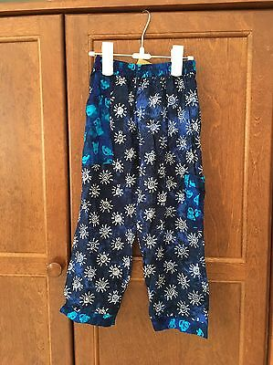 Kimberly's Travels Boy/Girl Unisex Pants NWT Size 3-4t