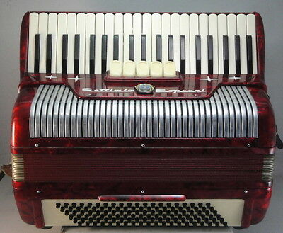 Settimio Soprani Piano Accordion 120 Bass
