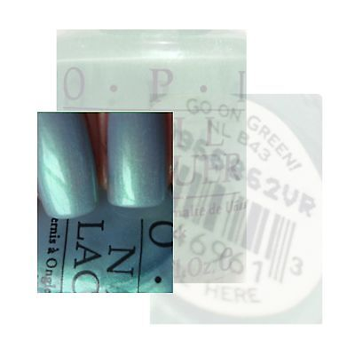 OPI Nail Polish Lacquer 15ml  # GO ON GREEN Free Postage