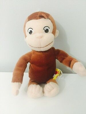 "Curious George Marvel Plush 7"" 2005"