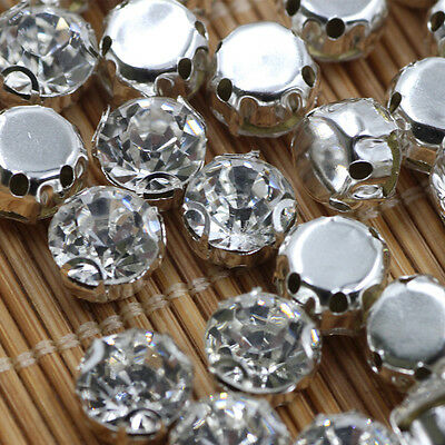 Color mixed 6mm Loose Rhinestones Diamontes Bling for Cakes Craft Point Back