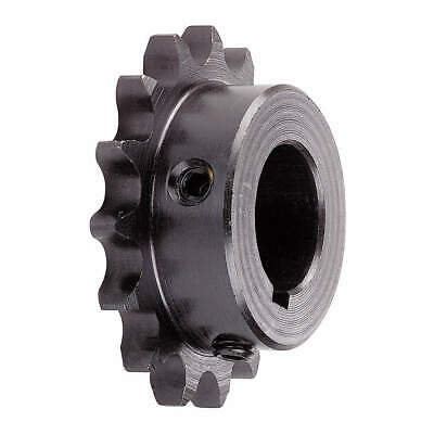 TSUBAKI Roller Chain Sprocket,Fixed Bore, 50B15F-3/4