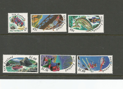 1994 NEW ZEALAND NZ IN THE 1950's COMPLETE SET OF 6 MUH