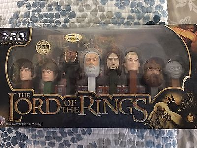 New Lord Of The Rings Limited Edition PEZ Collectors Series