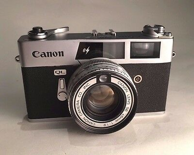 Canon QL 19 Camera with 45mm 1.9 Lens