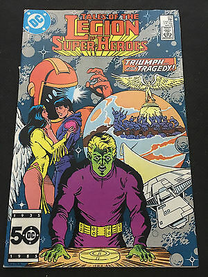 TALES OF THE LEGION OF SUPER-HEROES #323 (DC Comics - May, 1985)