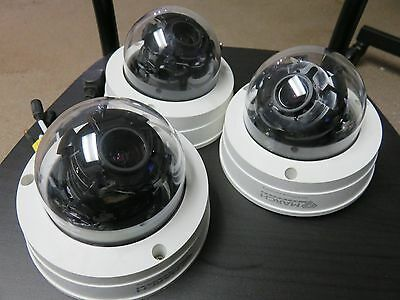 Lot of 3 March Networks Cam C0101B Vandal proof  Surveillance Security Camera