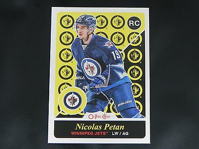 2015-16 OPC Update Retro ROOKIE #U29 Nicolas Petan Winnipeg Jets RC