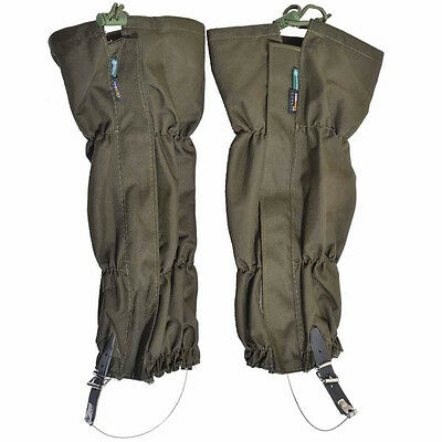 2pcs Outdoor Leg Gaiters Leggings Cover Waterproof for Hiking Climbing Hunting