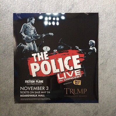 The Police Authentic Acetate Light Box Advertisement Poster