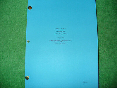 Hawaii Five-O Tv Script - Alex O'loughlin Scott Caan Grace Park Daniel Dae Kim