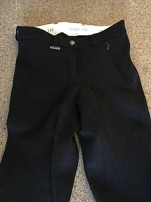 Dublin Black Nwot Jodphurs Full Seat Ladies Premium Sz 8 Ladies. Suit 8-10
