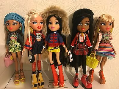 Bratz 2015 Study Abroad doll collection - Complete with all accessories