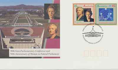 """Australia FDC, """"90th Inter-Parliamentary Conference and ..."""", 23 Sep 1993"""