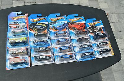 Hot Wheels Lot, NEW on Card, Police Fire and Rescue 19 Total
