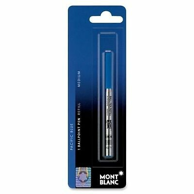 Montblanc Ballpoint Refill, SINGLE, Pacific Blue, Medium Point. 107866
