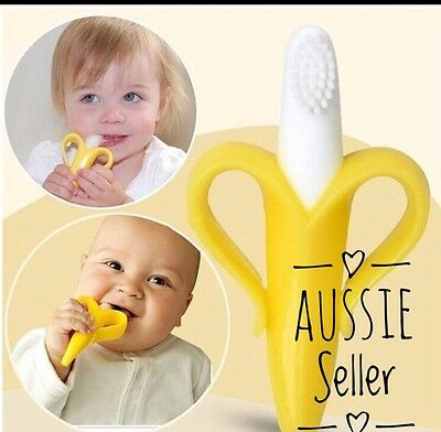Baby Teether Silicone Teething Toothbrush Stick Chew Baby Toy Dental Care