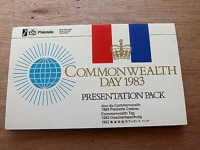 New Zealand 1983 Commonwealth Day Presentation Pack