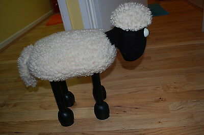 Shaun The Sheep Foot Stool From 1989 Wallace And Gromit