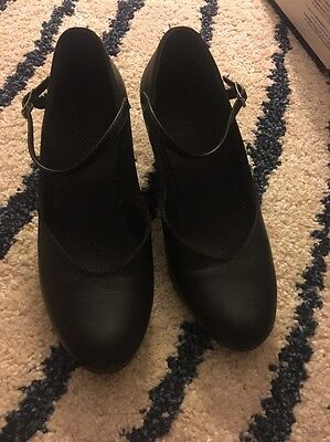 Black Character Shoes Sz 6