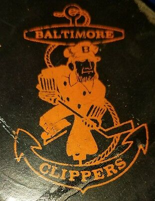 Rare 1974-75 AHL Baltimore Clippers Game Hockey Puck CCM OFFICIAL( read info!! )