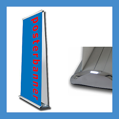 ROLL UP DISPLAY Double 2-seitig inklusive DRUCK 120 x 200 cm Messestand