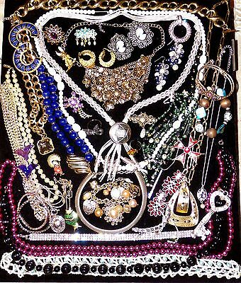 Jewelry Lot H 3 lbs Designer Costume Wearable Monet Cadoro Coventry Jelly Belly
