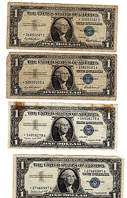 4 Star Note Silver Certificates