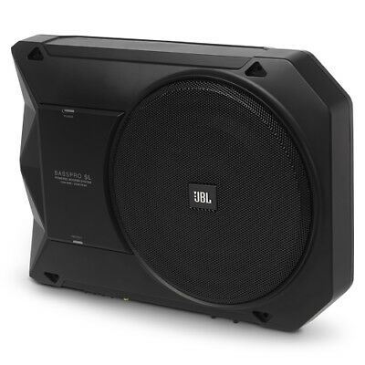 "JBL BassPro SL 8"" Powered Underseat Subwoofer (BASSPROSL) with AUST WARRANTY"