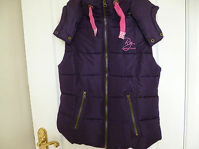 Rydale equestrian Wansford II hooded gilet Size XS