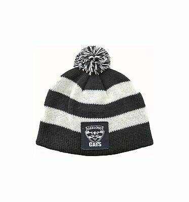Geelong Cats Official AFL Chunky Knit Baby Infant Beanie