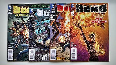 Human Bomb #1 2 3 4 Complete mini-series lot