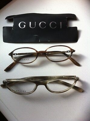 Brand New Gucci spectacle frames small size