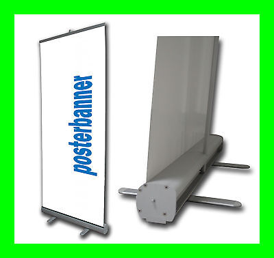 ROLL UP Banner DISPLAY inklusive DRUCK 85 x 205 cm