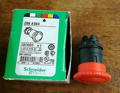 schneider electric emergency stop button zb5 as54