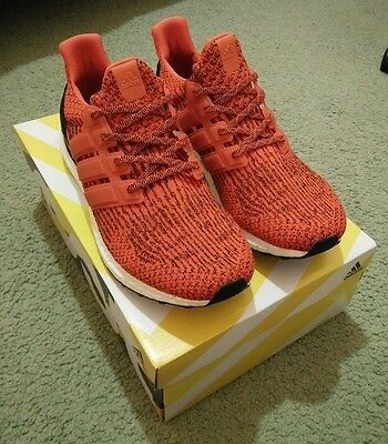 Adidas Ultra Boost 3.0 Energy Red Size 11.5US