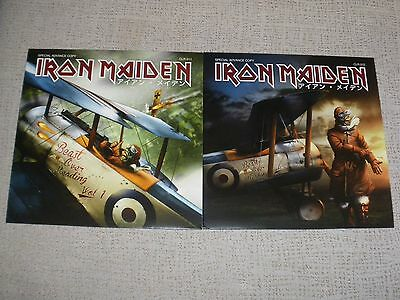 """Iron Maiden """"the Beast Over Reading"""" (Volume 1 & 2) 2 Lp, Green & Red Rare"""