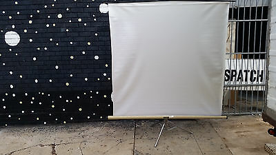 Large*freestanding*portable*compact Office Projector Screen*170 X 170*australux