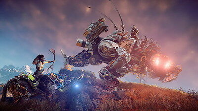 "029 Horizon Zero Dawn - Aloy Adventure Role Play Game 24""x14"" Poster"