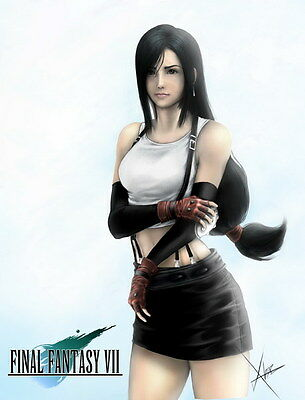 "103 Final Fantasy - Tifa Lockhart FF Lightning Face Girl TV Game 14""x18"" Poster"