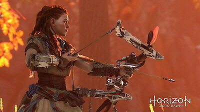 "006 Horizon Zero Dawn - Aloy Adventure Role Play Game 42""x24"" Poster"