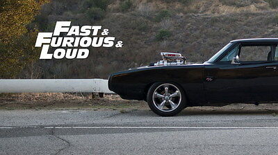 """013 Dodge Charger 1970 - Fast Furious 7 Muscle Race Car 42""""x24"""" Poster"""