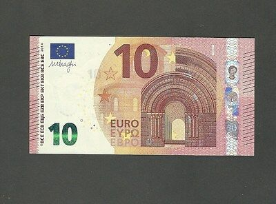 10 euro banknote Greece- Y002A1 - difficult printer position