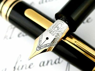 "RARE!! TRAVELER MONTBLANC ""Meisterstuck No.147"" 4810 Germany Fountain Pen NICE"