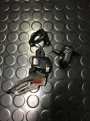 XTR Di2 Front Derailleur And Shifter