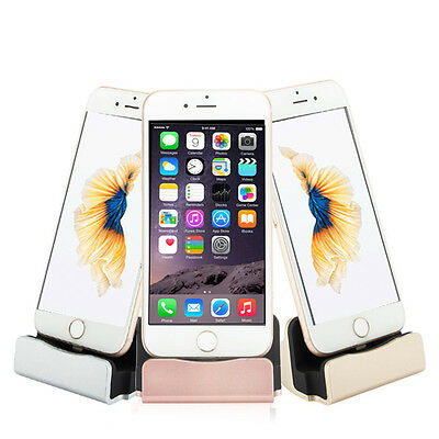 New Desktop Dock Station Charger Stand Sync Charge Cradle For iPhone 5 6 6 Plus