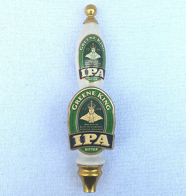 Vintage Green King Ipa Beer Pump/ Tap Home Bar Pub Beer Equipment / Used