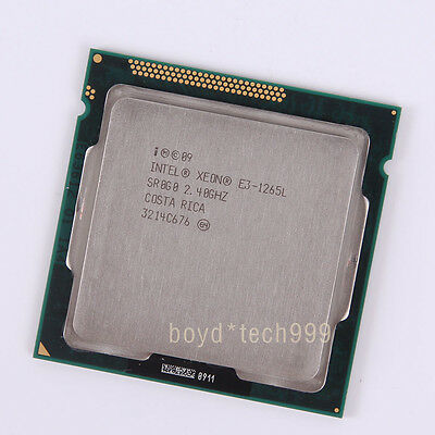 Intel Xeon E3-1265L CPU Processor 2.4 GHz 3500 MHz LGA 1155/Socket H2
