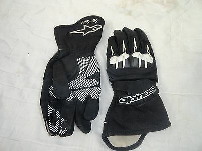 Alpinestars Textile Summer Armoured Motorcycle Gloves Size S